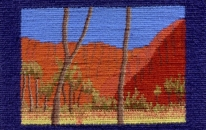 Uluru at midday<br>SOLD