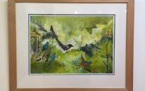 Natures Songbird-Framed