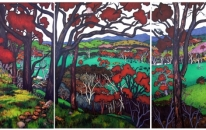 Acheron Valley - Triptych<br>SOLD