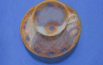 21. Blue. Tea Cup<br>SOLD