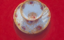 19. Red. Tea Cup<br>SOLD