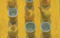 16. Yellow. Cups. Pears<br>SOLD