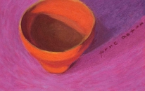 Magenta, Chinese Tea Cup