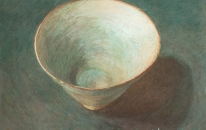 9. Hand Made Bowl, pastel on paper 2012