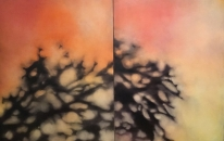 End of Day - Diptych
