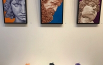 Gallery view of Peeling Layers Exhibition