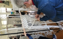 Macrame making with Claire Sunderland