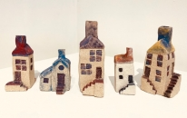 Minature House Sculptures - Beginner Class