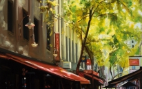 Hardware-Lane-92-X-76-cm-Oil-on-Canvas