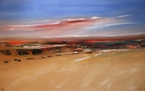 Outback Sunset On  A Dry Land<br>SOLD