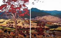 View From Home - Diptych<br>SOLD