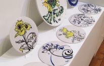 Porcelain Ceramic Platters and Plates