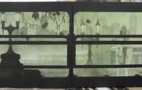 Reflective Window Seat - Diptych