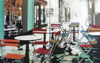 Empty Chairs- diptych
