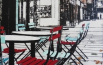Empty Chairs Large #7 cropped<br>SOLD